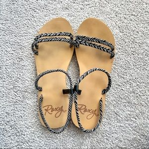 Roxy Rope Strap Sandals